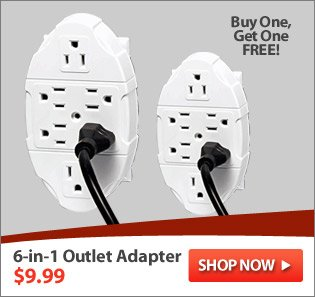 6-in-1 Outlet Adapter