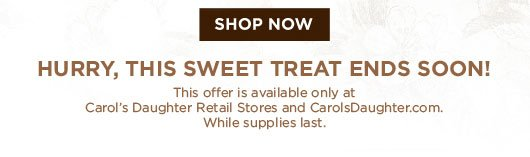 It's Sweet & Simple: Spend $40 Now & Get A $10 Gift Card To Spend Later