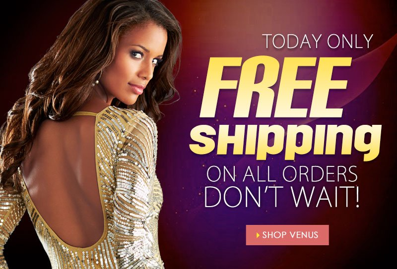 TOTALLY Free Shipping on ALL orders, TODAY ONLY! No minimum purchase required!