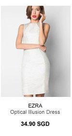 EZRA Optical Illusion Dress