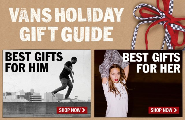 Shop Vans Holiday Gift Guide!
