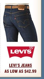 Mens Levis Jeans on Sale