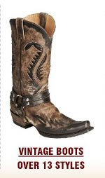 Mens Vintage Boots on Sale