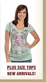Womens Plus Size Tops on Sale