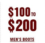 Mens Boots 100 to 200 on Sale