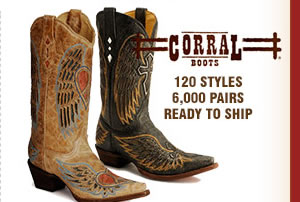 Corral Boots on Sale