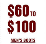 Mens Boots 60 to 100 on Sale