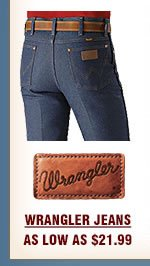 Mens Wrangler Jeans on Sale