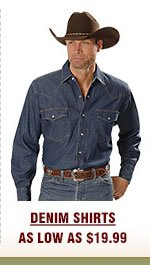 Mens Denim Shirts on Sale