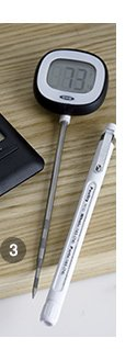 3. OXO® Leave-in Meat Thermometer $16.95