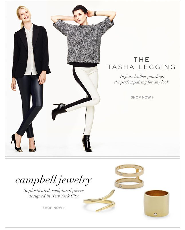 The Tasha Legging: Simply Chic