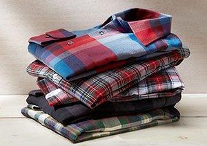 Warm Up: Flannel Shirts
