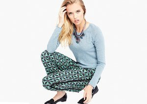 The Look: Cashmere, Prints & Jewels