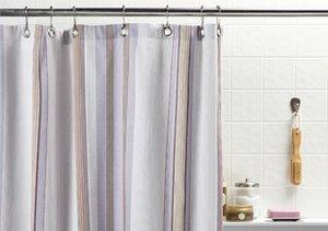 Bath Update: Shower Curtains & Rugs