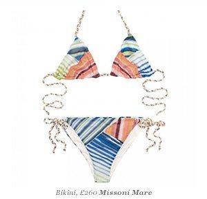 Bikini, Missoni Mare