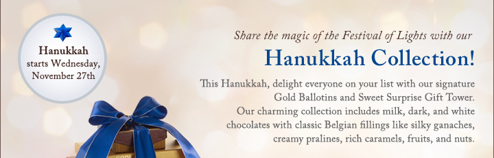 Share the magic of the Festival of Lights with our Hanukkah Collection!