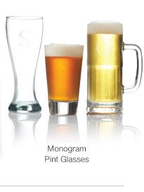 Monogram glasses