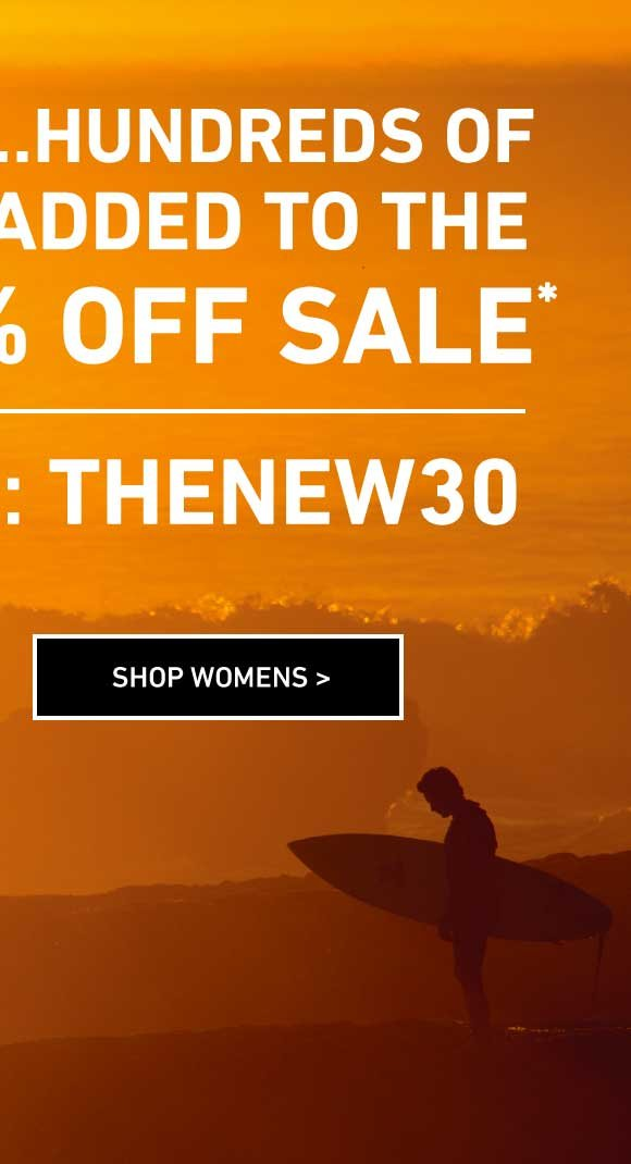Hundreds of Fall Styles Added! Shop Women's Extra 30% Off Sale. Enter Code: THENEW30