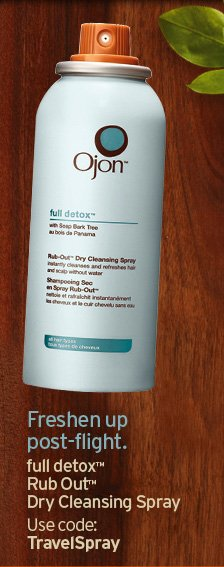 Freshen up post flight full detox Rub Out Spray Dry Cleansing Spray  Use code TRAVELSPRAY