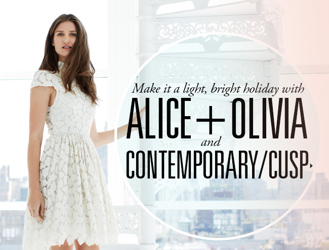 Alice + Olivia Holiday at  Contemporary/CUSP