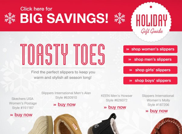 The Perfect Slippers For Toasty Toes…