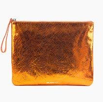 Folio Bag | Metallic Orange