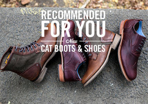 Shop Recommended for You: CAT Boots