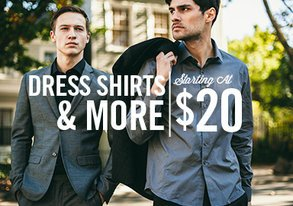 Shop Holiday Looks: Dress Shirts from $20