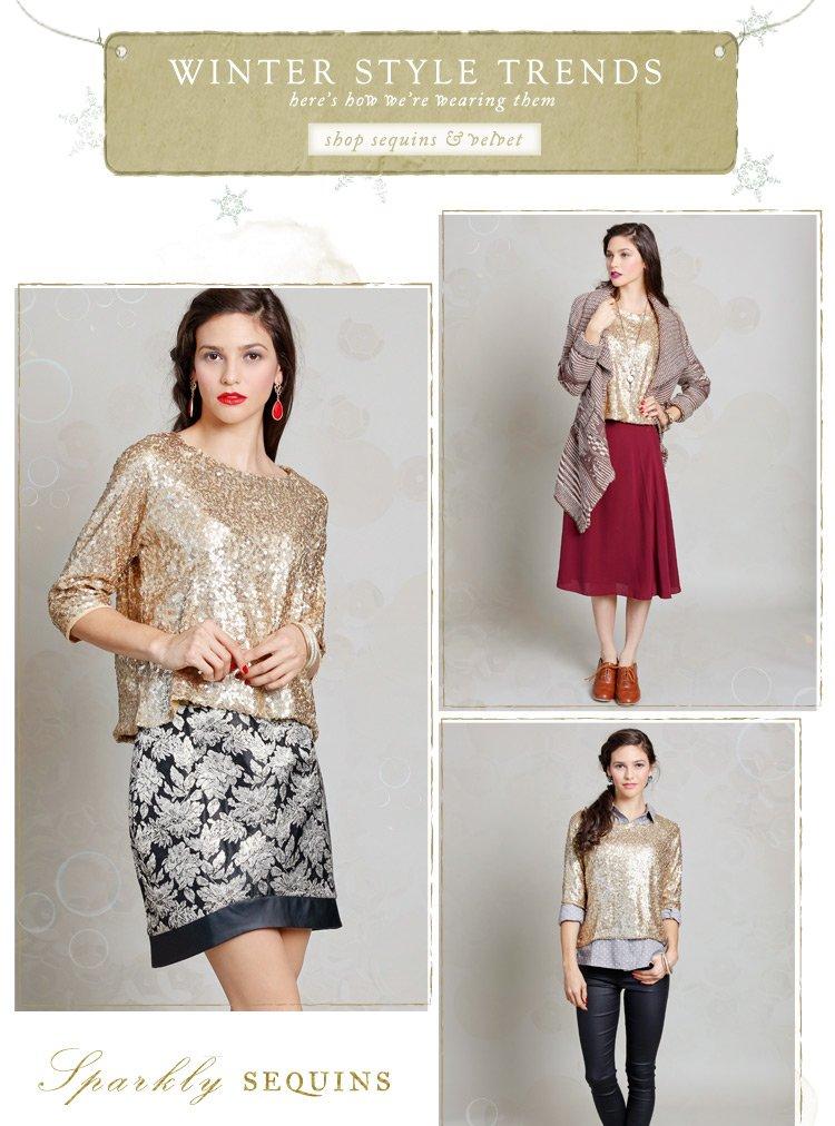 Shop Sequin & Velvet