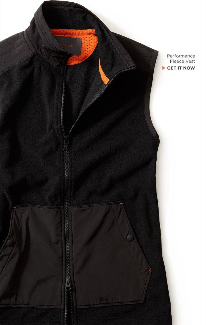 Performance Fleece Vest | GET IT NOW