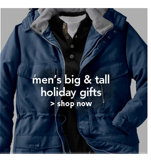 Shop Men's Big and Tall Holiday Gifts