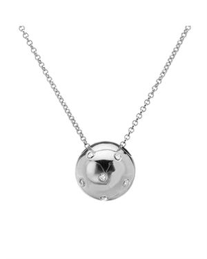 Ladies Necklace Made Of 925 Sterling Silver