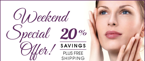 Save 20% plus Free Shipping