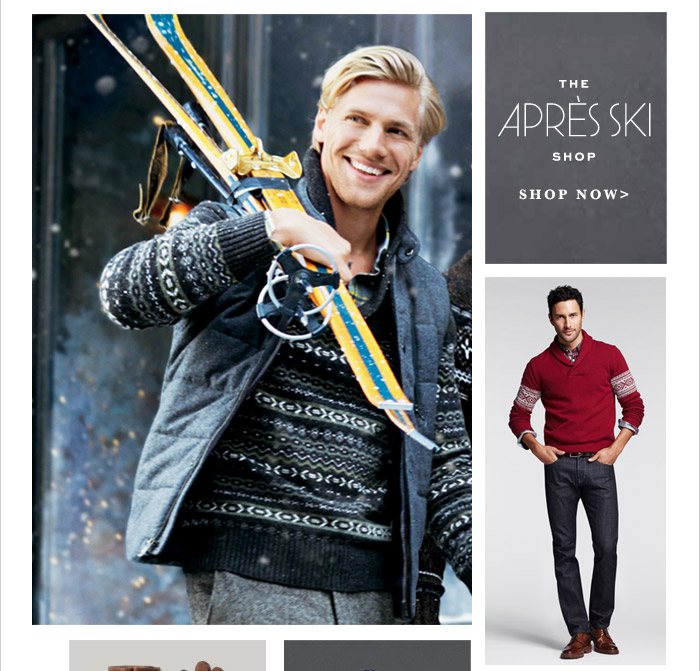 THE APRÈS SKI SHOP | SHOP NOW