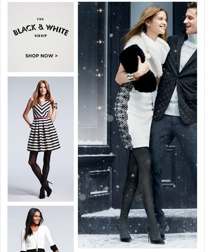 THE BLACK & WHITE SHOP | SHOP NOW
