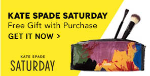 Kate Spade Saturday Free Gift With Purchase