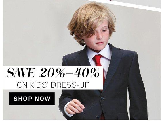 Save 20%-40% on Kids' Dress-Up. Shop Now
