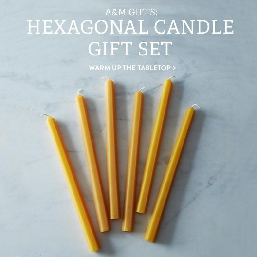 Hexagonal Candles