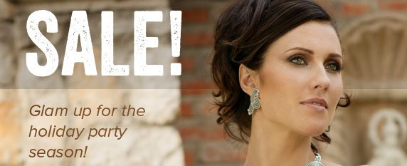 SALE! Glam up for the holiday party season!