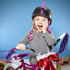 The Little Cyclist: Bikes & Helmets