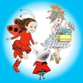 OLIVIA, Fancy Nancy & Ladybug Girl