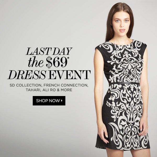 Dresses for $69
