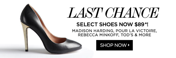 Shoes for $89