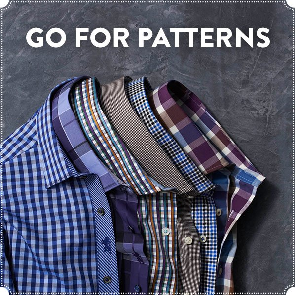 GO FOR PATTERNS