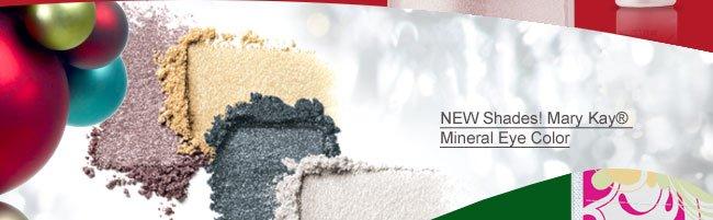 NEW Shades! Mary Kay® Mineral Eye Color