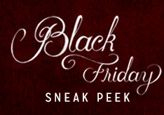 Black Friday Sneak Peek