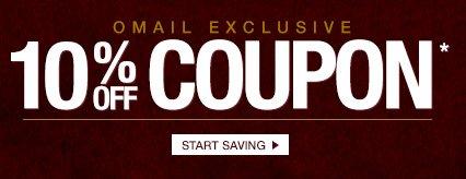 OMAIL - 10% off Coupon* - Start Saving