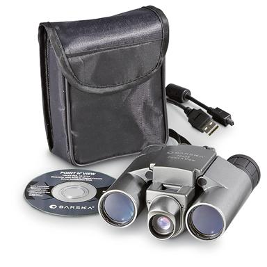 Barska® Point'n View 10x25mm Camera Binoculars