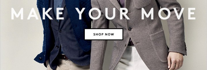 Boglioli, Rake and more: Shop modern classic menswear now.