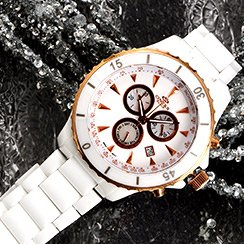 Trendy Now: Mother Of Pearl Watch